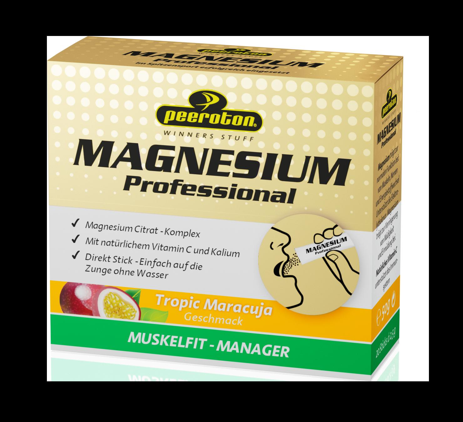 Peeroton Magnesium Sticks Tropic Maracuja // 20 Sticks