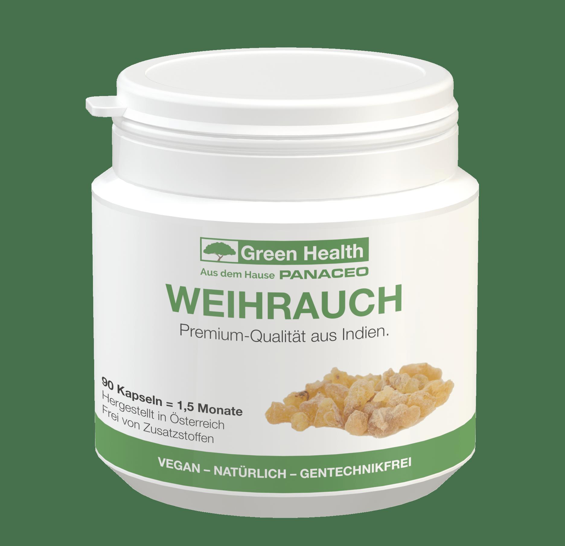 Green Health Weihrauch - 90 Kapseln
