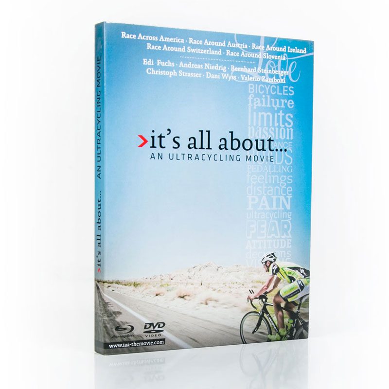 """DVD """"it's all about... ultracycling"""""""