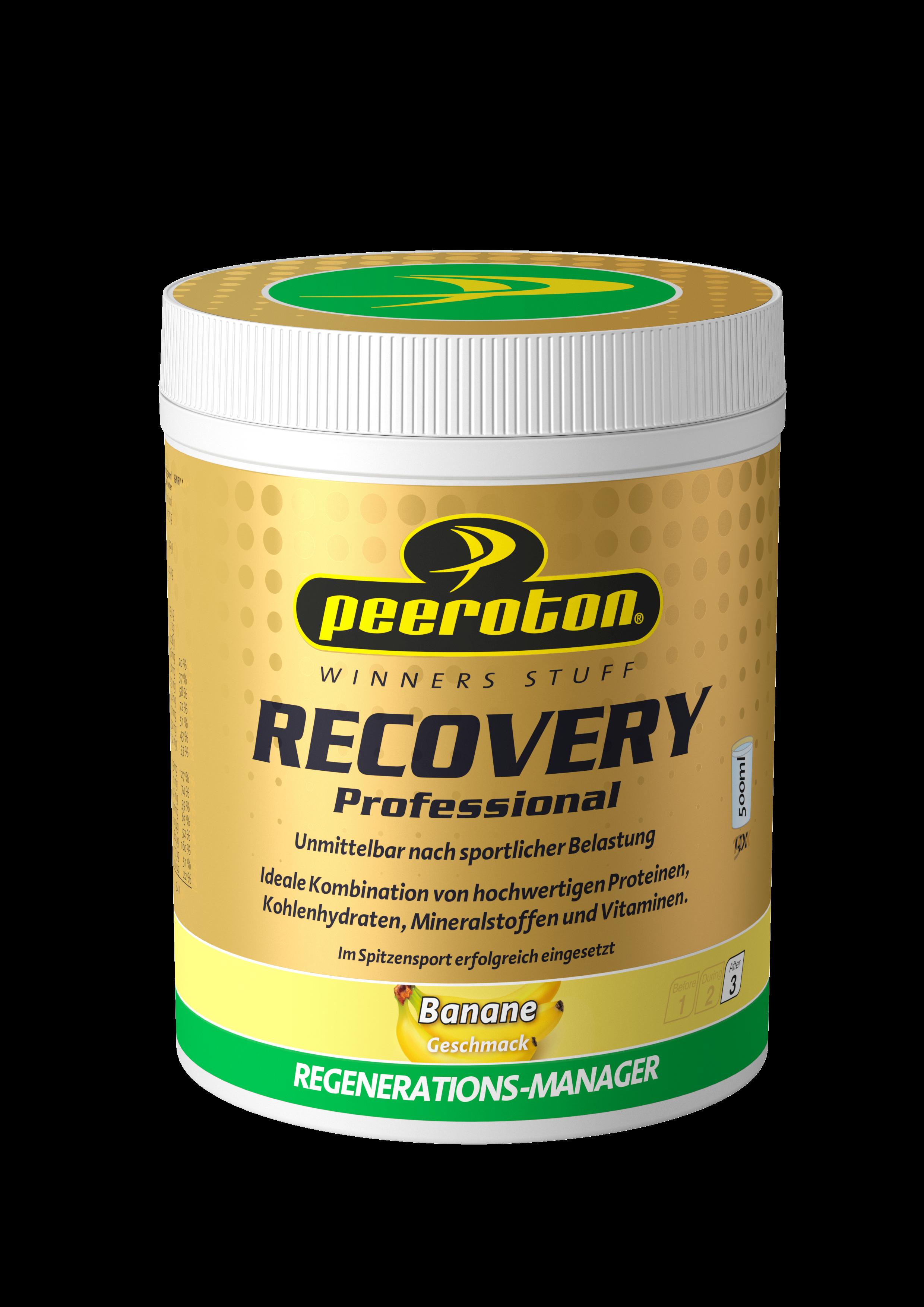 Peeroton Recovery Professional 540g BANANE