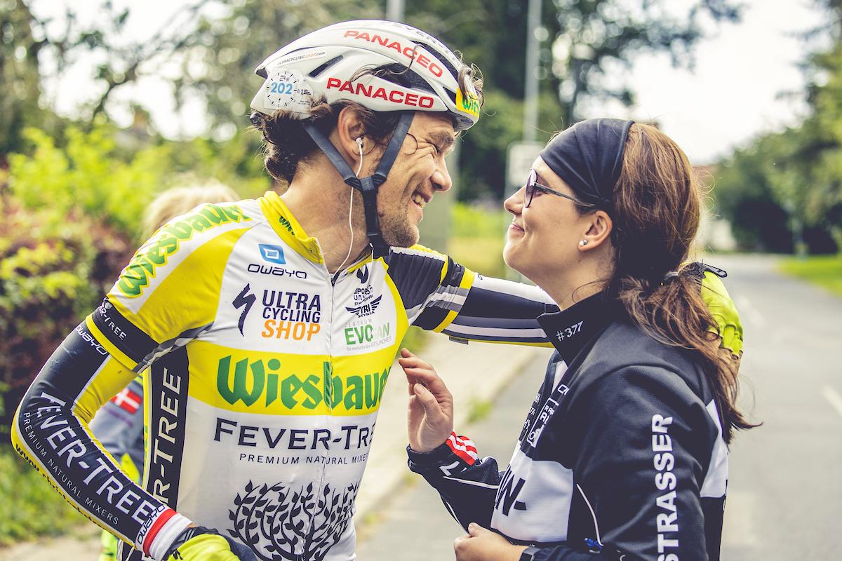 Christoph Strasser und Sabine Prager