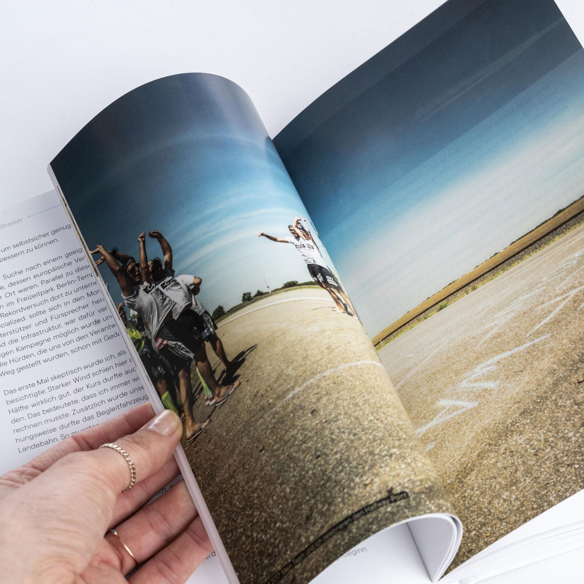 """Buch """"Der Weg ist weiter als das Ziel"""" - von Christoph Strasser"""