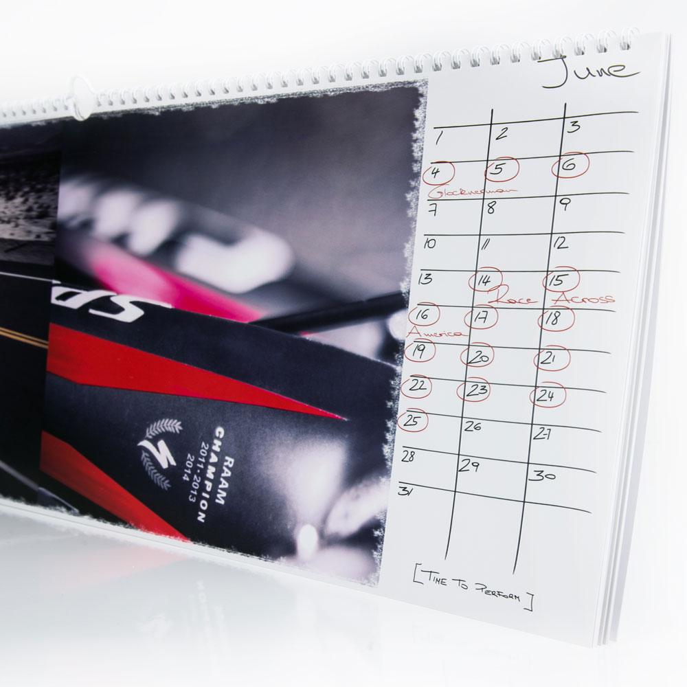 """Bilder-Kalender """"Ultracycling"""""""