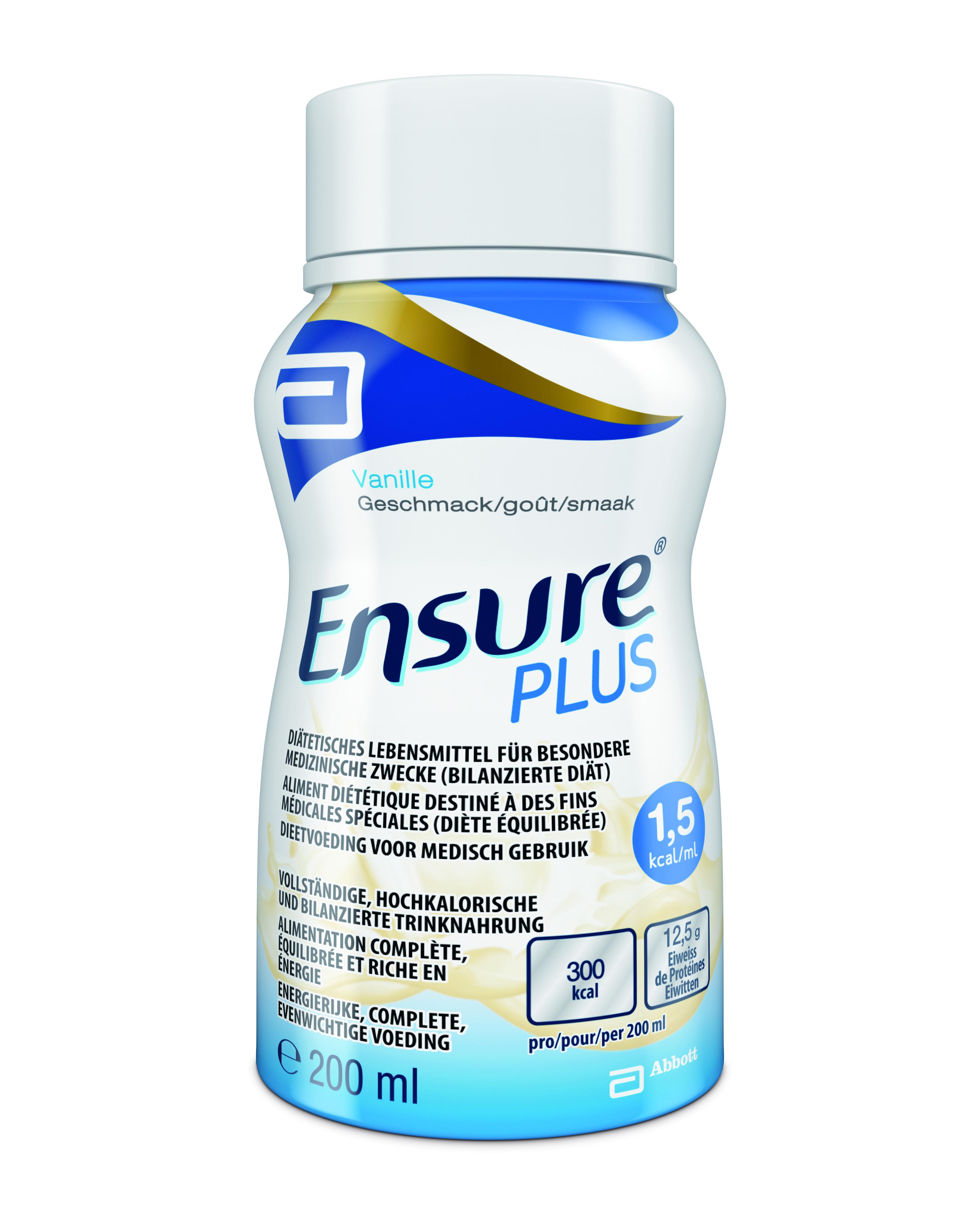 Ensure Plus Flüssignahrung - VANILLE NEU 24er Karton