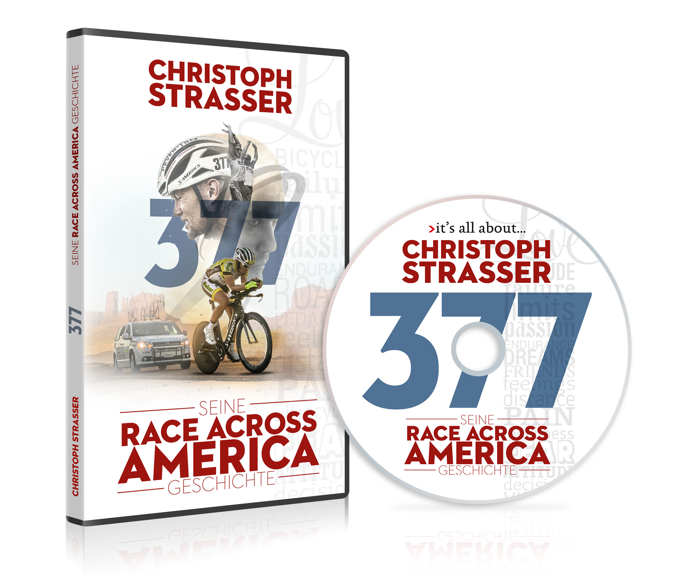 "DVD ""Christoph Strasser - 377 - Seine Race Across America Geschichte"""