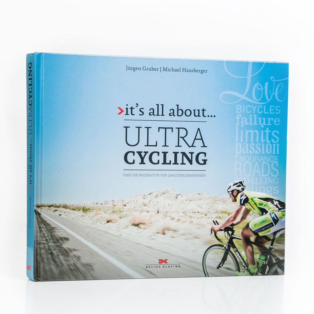 "Buch ""it's all about... Ultracycling"""