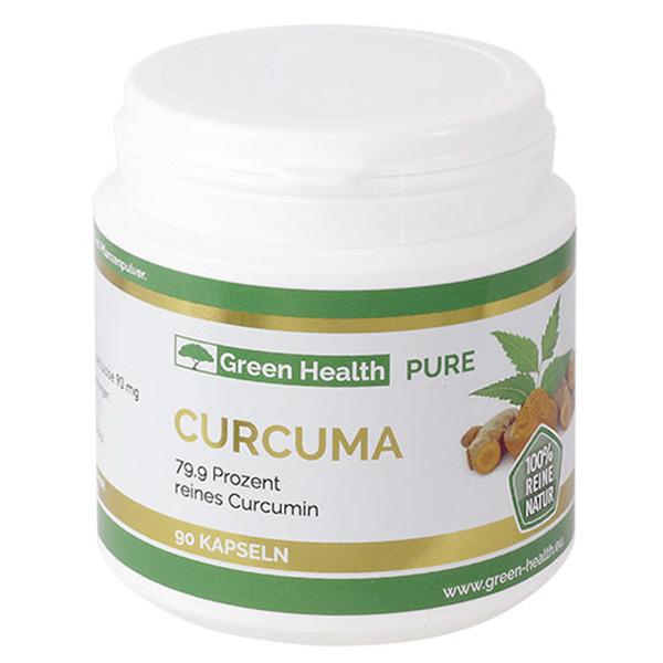 Green Health Pure Curcuma - 90 Kapseln