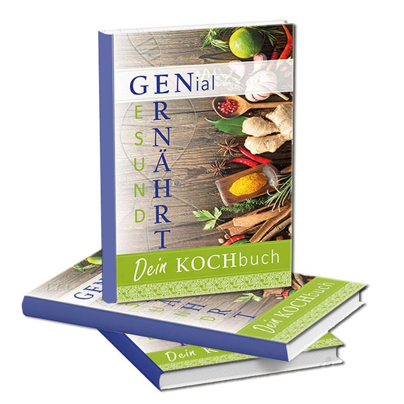 """Buch """"GENial Ernährt"""" von Sigrid Stark"""