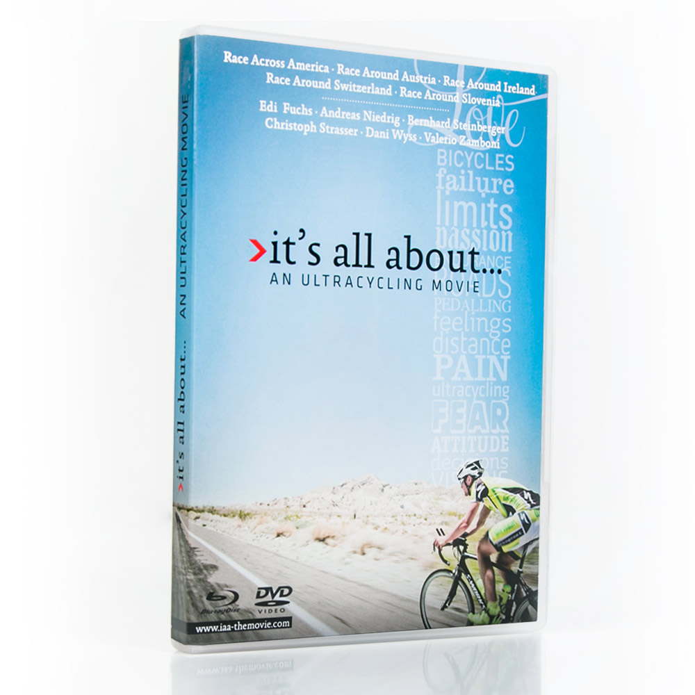 "DVD ""it's all about... Ultracycling"""