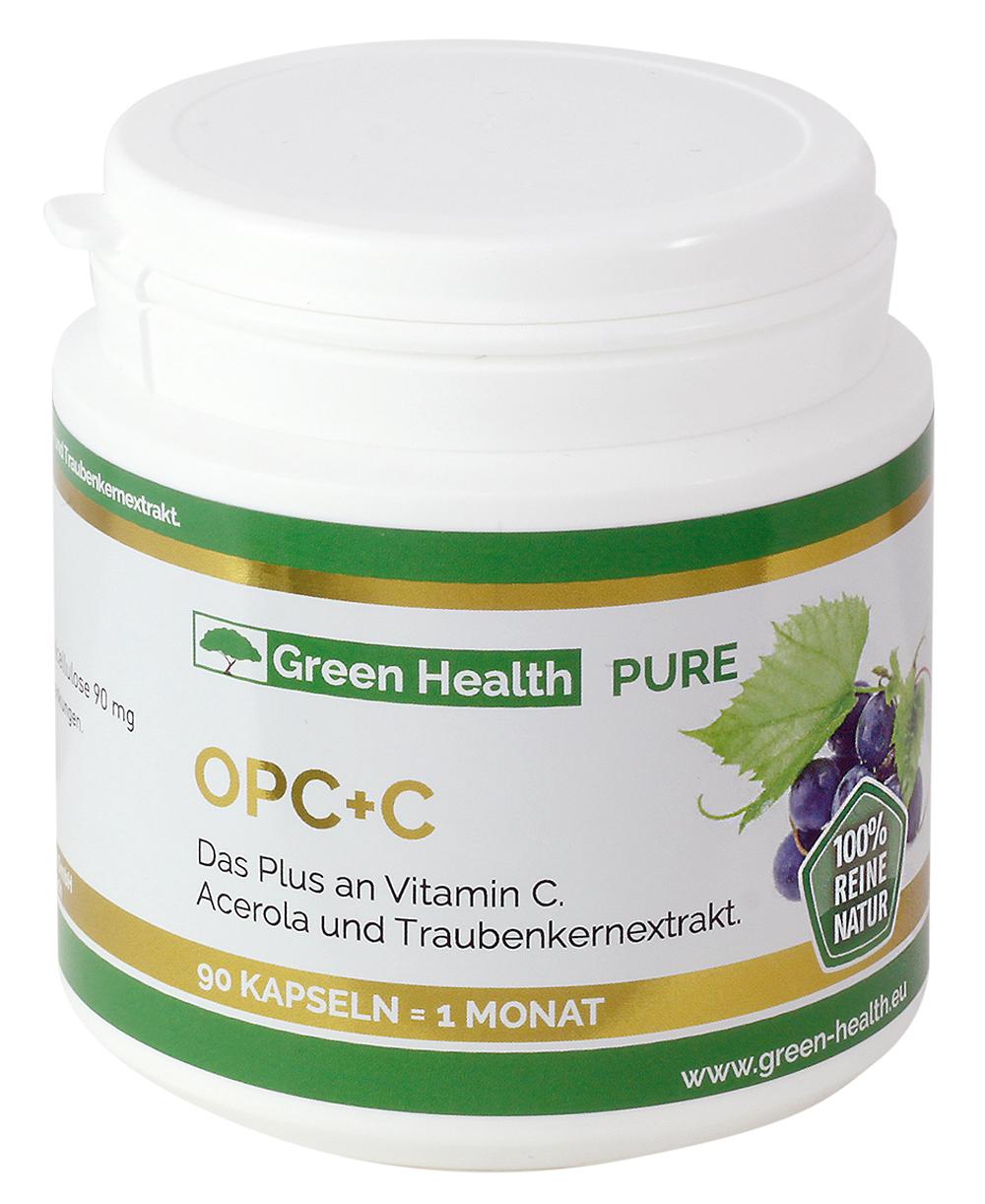 Green Health Pure OPC+C - 90 Kapseln