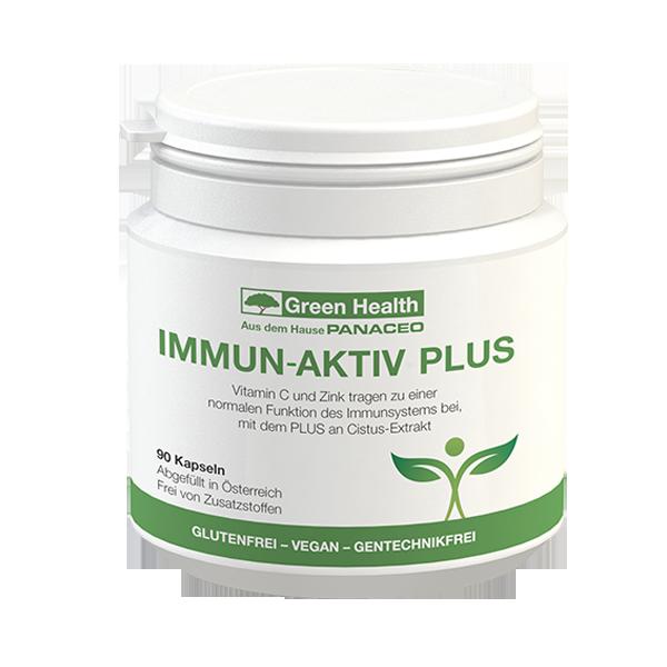 Green Health Immun Aktiv Plus - 90 Kapseln