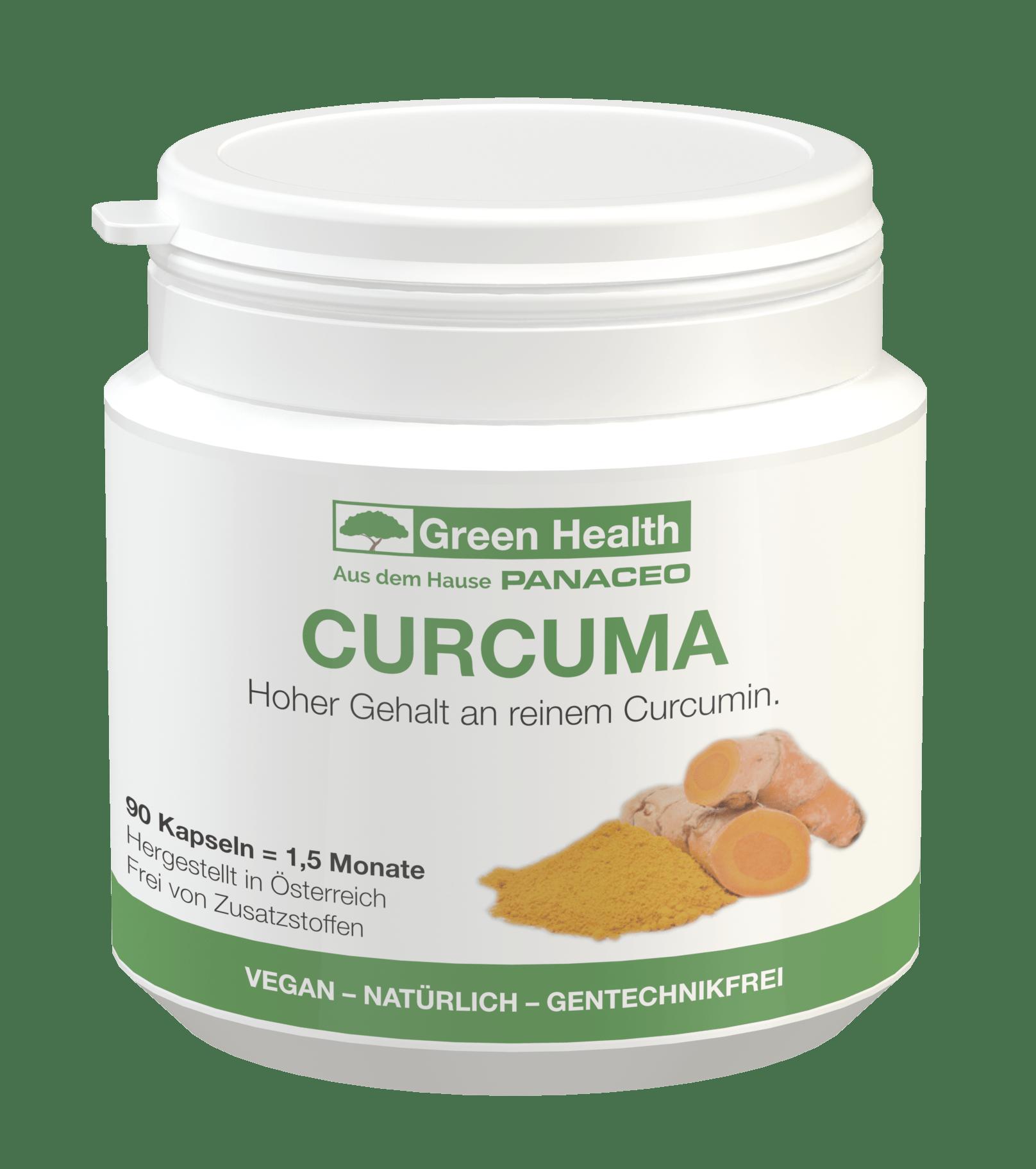 Green Health Curcuma - 90 Kapseln