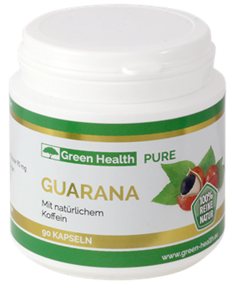FINAL SALE! Green Health Guarana - 90 Kapseln