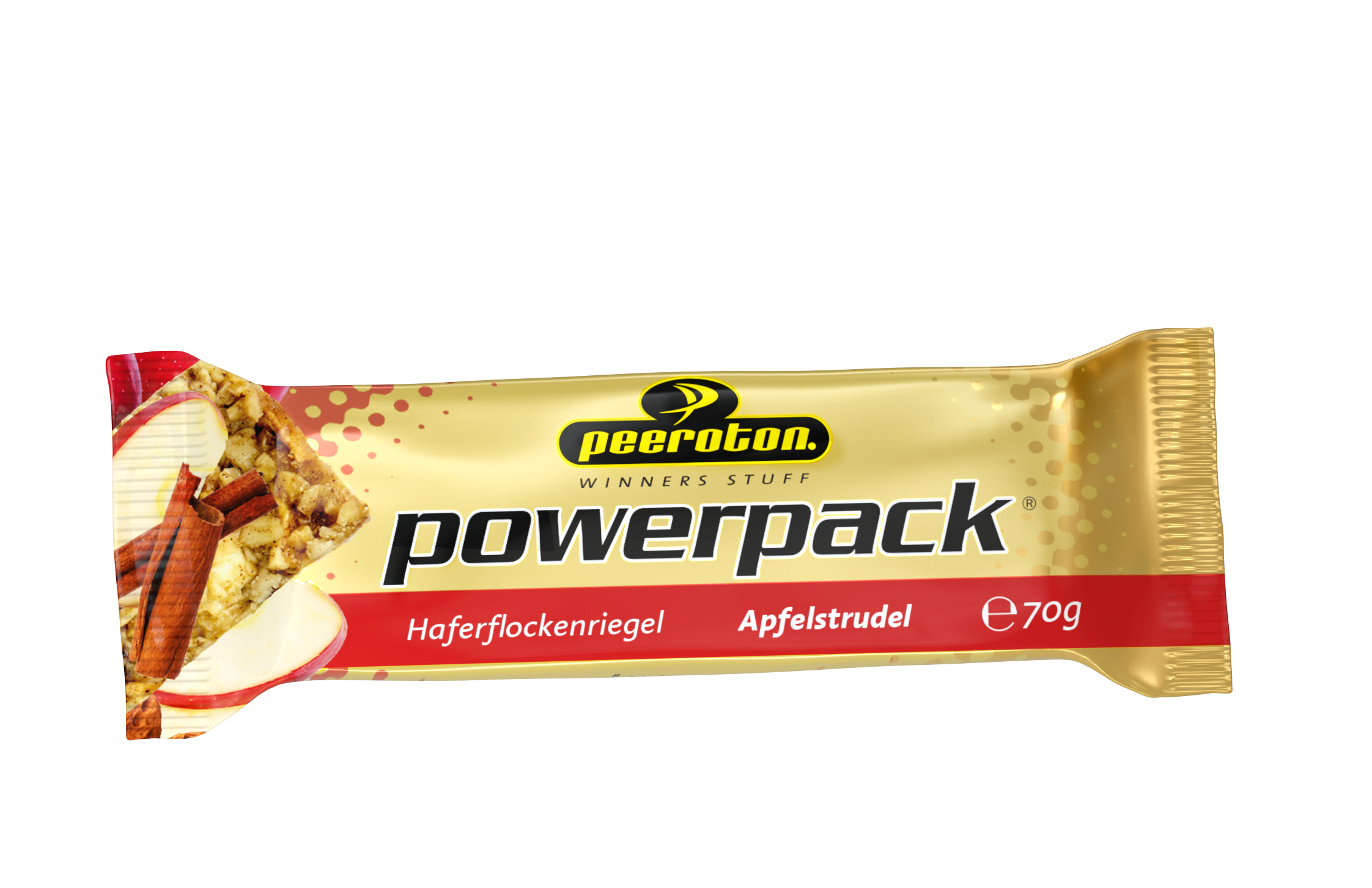 Peeroton POWERPACK Riegel 70g Apfelstrudel, 12 + 3 Gratis