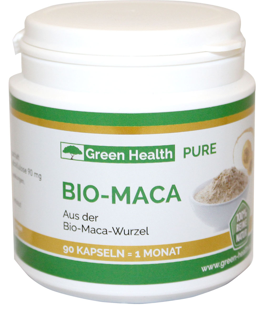 Green Health Bio Maca - 90 Kapseln