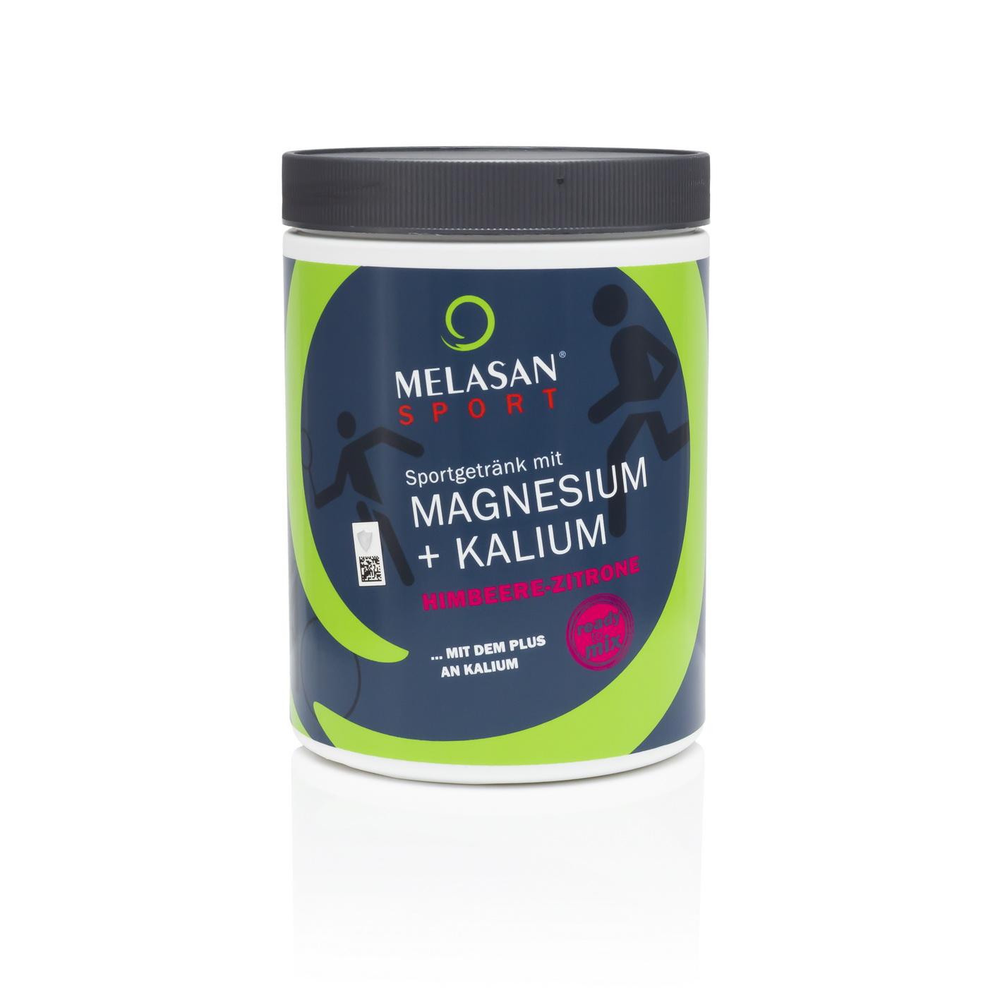 Melasan Sportgetränk Magnesium-Kalium HIMBEER-ZITRONE