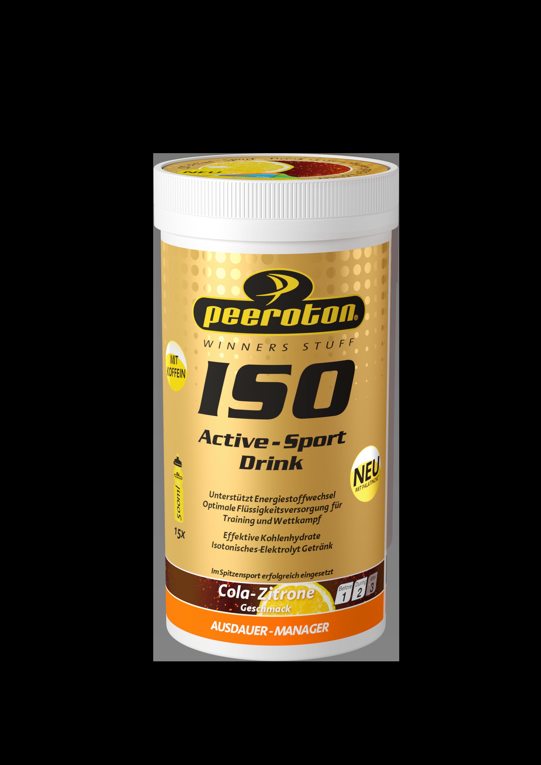 Peeroton ISO-ACTIVE Sportdrink 300g Cola-Zitrone // Ausdauer