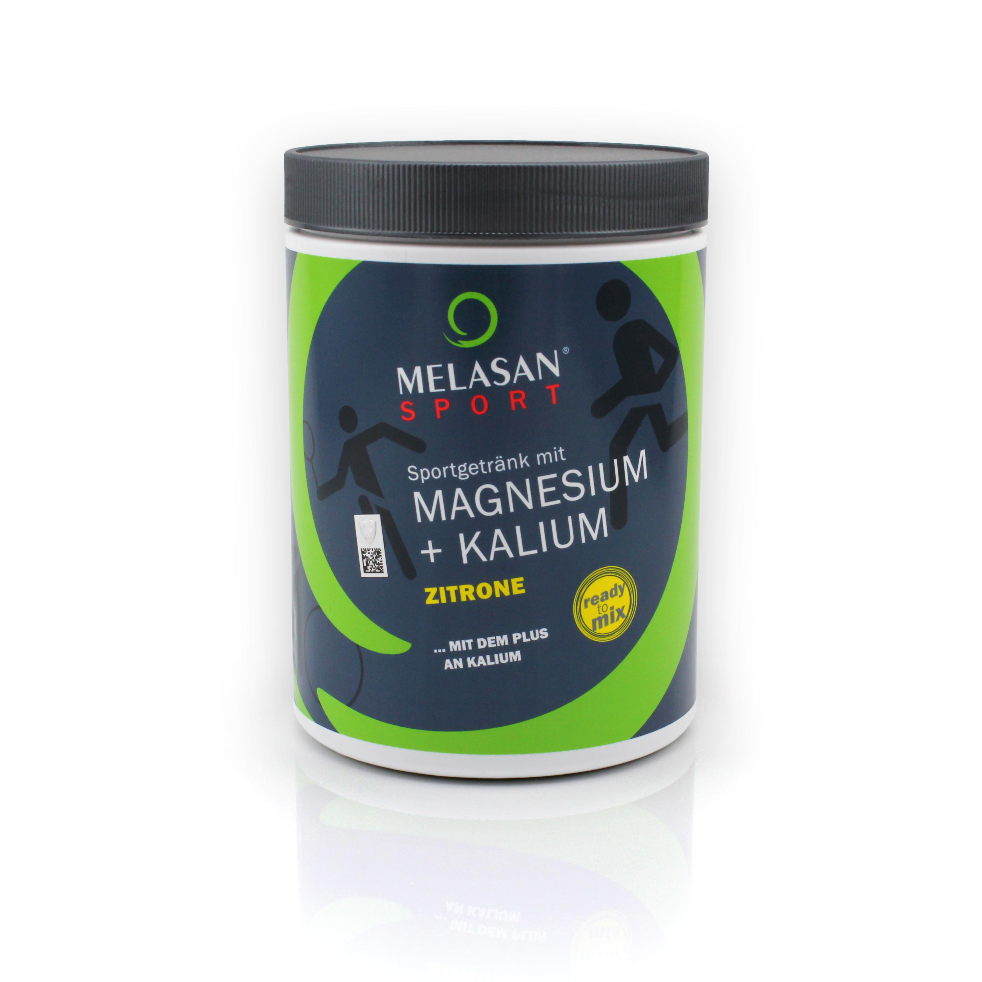 Melasan Sportgetränk Magnesium-Kalium ZITRONE