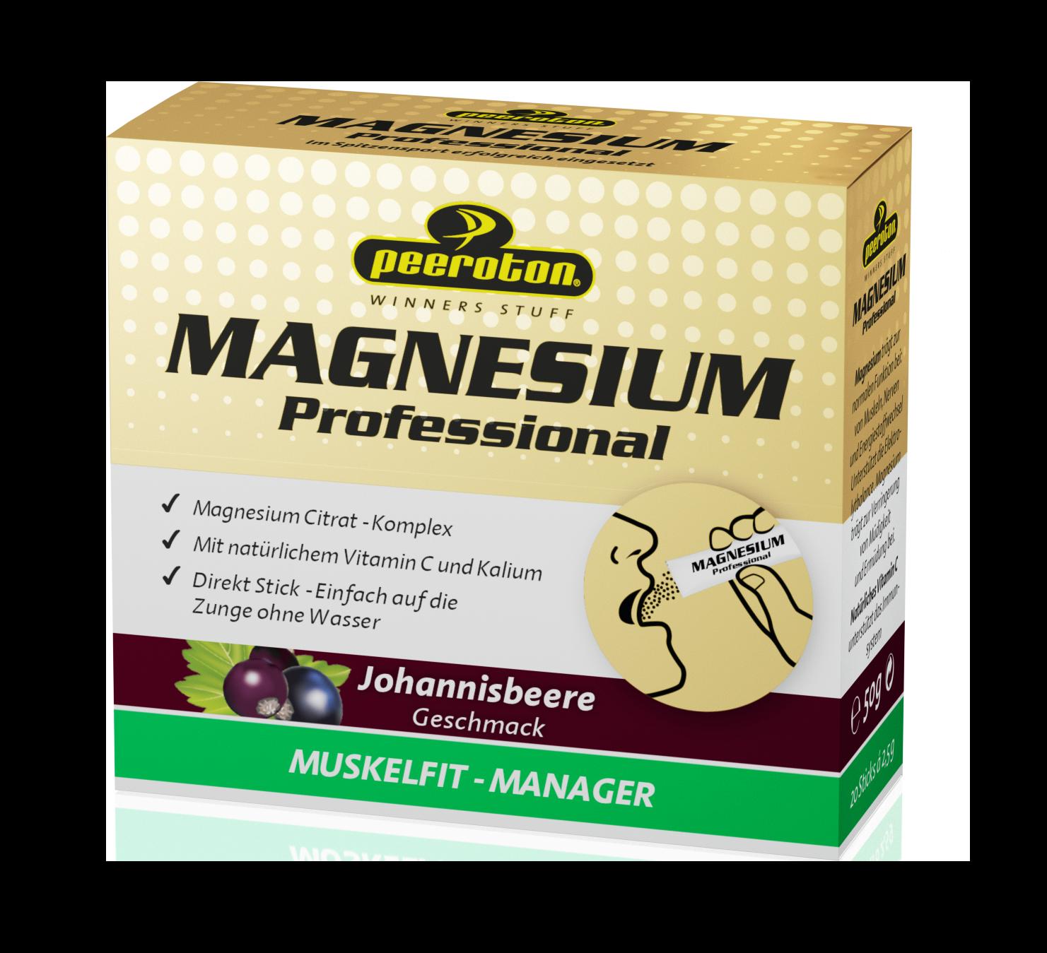 Peeroton Magnesium Sticks Johannisbeere // 20 Sticks