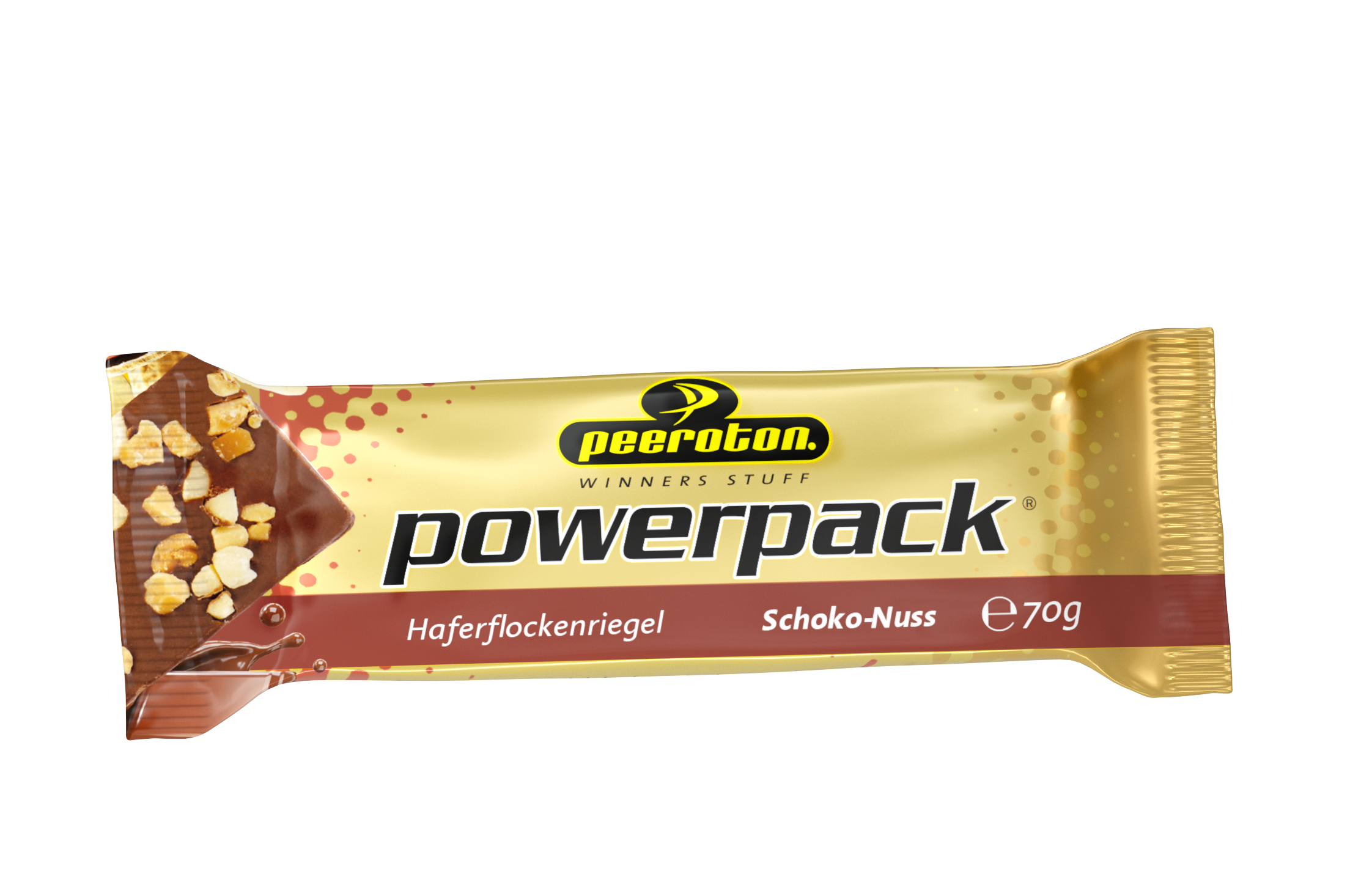 Peeroton POWERPACK Riegel 70g Schoko-Nuss, 12 + 3 Gratis